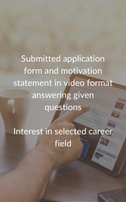 Criteria for Remote Internship Scholarship